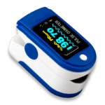Пульсоксиметр GrowWin Pulse Oximeter LK88 Blue