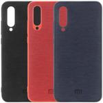 Xiaomi Mi 9 Lite Оригинальный бампер TPU + Leather (Logo)