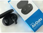 """Навушники TWS (""""повністю бездротові"""") Xiaomi AirDots Black (TWSEJ04LS)"""