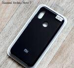 Xiaomi Redmi Note 7/7Pro Оригинальный силиконовый бампер