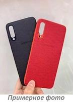 Xiaomi Redmi 7 Оригинальный бампер TPU + Leather (Logo)
