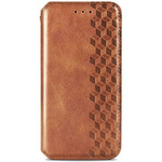 Redmi Note 10 Чохол-книжка коричневого кольору